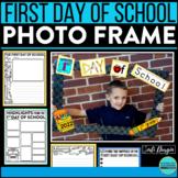PHOTO FRAME KIT back to school keepsake bulletin board idea