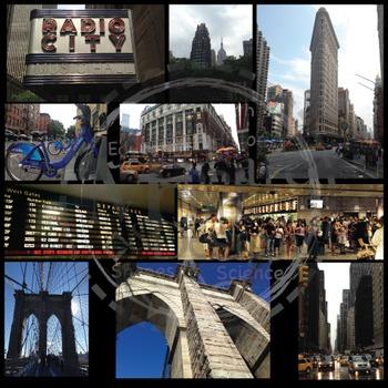"PHOTO Set - NYC Manhattan ""Big Apple"" Photo Pack {Messare Clips and Design}"