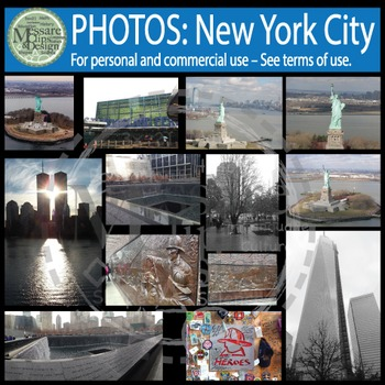 "PHOTO Set - NYC Manhattan ""Big Apple"" Photo Pack {Messare"
