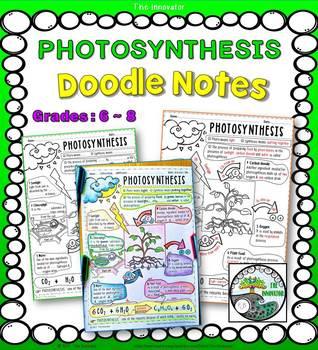 PHOTOSYNTHESIS - Doodle Notes