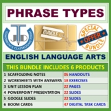 PHRASE TYPES: BLOOM'S TAXONOMY BASED RESOURCES - BUNDLE