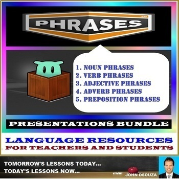 PHRASES PRESENTATIONS: BUNDLE