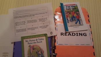 PHUN Homework Binder Labels