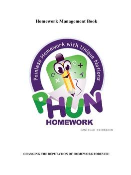 PHUN Homework Teacher Management Book