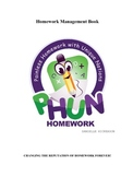 PHUN Homework Teacher Management Book