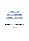 PHYSICAL CONDITION TEST