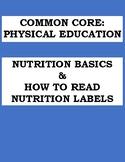 PHYSICAL EDUCATION: NUTRITION BASICS