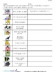 PHYSICAL ENVIRONMENT ACTIVITIES, VERBS (SPANISH 2016 EDITION)