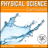 PHYSICAL SCIENCE CURRICULUM -  5 E Model - Distance Learning
