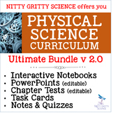 PHYSICAL SCIENCE CURRICULUM - ULTIMATE BUNDLE v 2.0 (No Labs)