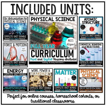 PHYSICAL SCIENCE Growing Bundle of Resources