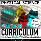 PHYSICAL SCIENCE CURRICULUM- ENTIRE YEAR COURSE BUNDLE