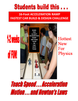 PHYSICS 16-FOOT MONSTER ACCELERATION RAMP 1-2 weeks of ENGAGING FUN SALE  $8.50