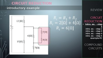 PHYSICS - Combination Circuits & Ohms Reduction