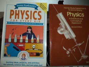 PHYSICS  EXPERIMENTS    PHYSICS   (SET OF 2)