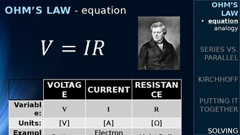 PHYSICS - Kirchhoff's Laws, Series vs. Parallel Circuits (PPT)