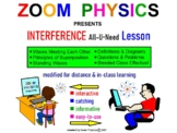 PHYSICS: WAVES: Interference, Standing Waves. Test Quiz Prep Worksheets