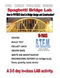 PHYSICS  -  SPAGHETTI BRIDGE CONSTRUCTION-TEST LAB