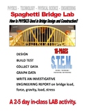 PHYSICS  -  SPAGHETTI BRIDGE CONSTRUCTION-TEST LAB