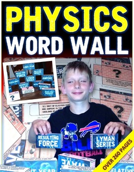 PHYSICS: WORD WALL