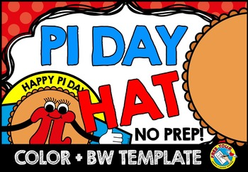 PI DAY ACTIVITIES (PI DAY CRAFTS HAT TEMPLATE) HOLIDAY CRAFTS