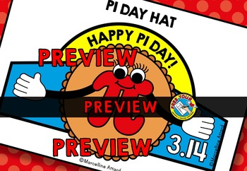 PI DAY ACTIVITIES ELEMENTARY (PI DAY CRAFTS HAT TEMPLATE) MARCH