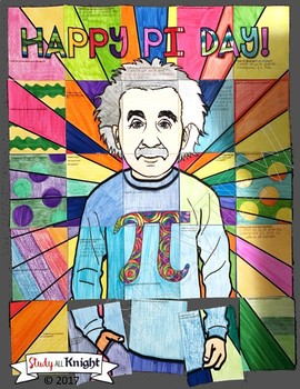 PI DAY ACTIVITY COLLABORATIVE POSTER WITH WRITING PROMPT