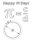 PI DAY COLORING, BUNDLE 6 PAGES, PI DAY ACTIVITIES, PI DAY 2019, PI DAY MARCH 14
