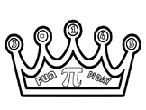 PI DAY CROWN.(freebie)