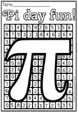 PI DAY FUN COLORING.