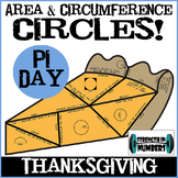 PI DAY Pie PUZZLE Circles - Vocabulary, Area, Circumference