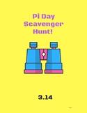 PI Day Scavenger Hunt