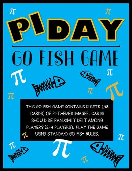 PI day GO-FISH Game