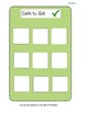 PICA Categorization File Folder Game (Safe to Eat vs. Not Safe to Eat)