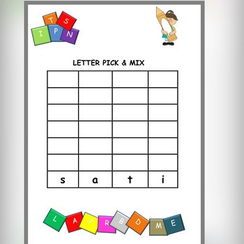 PICK & MIX SIGHT WORDS AND SOUNDS