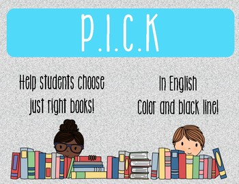 PICK a just right book