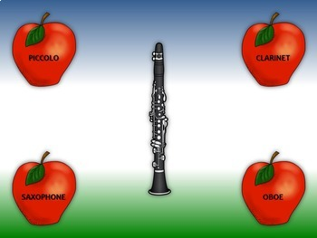 Pickin' Apples:  Instrument Names