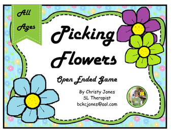 Open Ended Game- PICKING FLOWERS