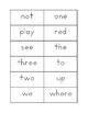 PICKLE Sight Word Game PrePrimer and Primer, Sight Word Fl