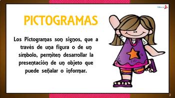 PICTOGRAMAS PARA NIÑOS PARA IMPRIMIR