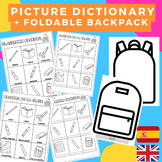 PICTURE DICTIONARY SPANISH-ENGLISH Classroom objects/ Obje