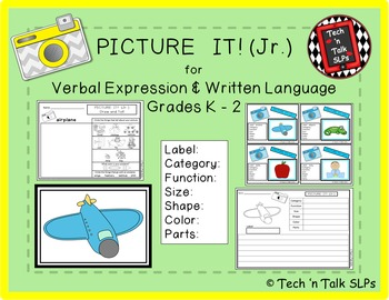 PICTURE IT! (Jr.) for Verbal Expression & Written Language K - 2