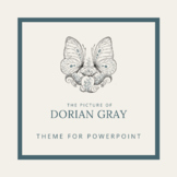 PICTURE OF DORIAN GRAY Theme for PowerPoint