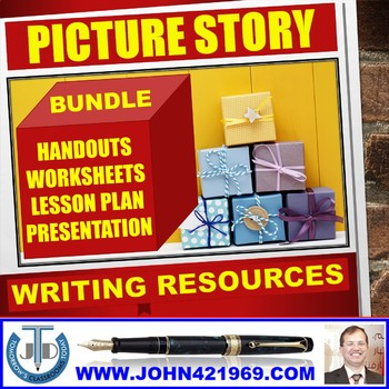 PICTURE PERCEPTION STORY WRITING BUNDLE