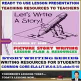 PICTURE PERCEPTION STORY WRITING LESSON PRESENTATION