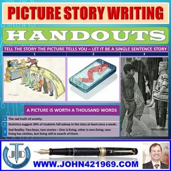 PICTURE STORY ELEMENTS HANDOUTS