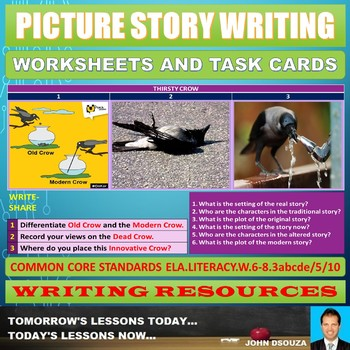 PICTURE STORY WRITING TASK CARDS