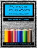 PICTURES OF HOLLIS WOODS Giff - Discussion Cards PRINTABLE