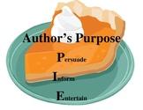 PIE  Author's Purpose Poster
