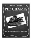 PIE CHART WORKSHEETS - GRADES 4, 5 AND 6